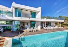 una casa hermosa