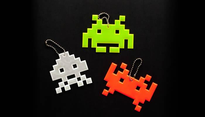 llavero space invaders