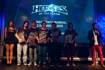 Lanzamiento para la prensa de los video juegos HEROES. En Santiago;26/05/2015. Fotógrafo :Valentino Saldivar.