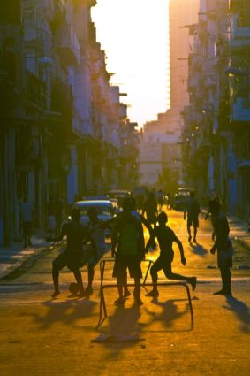 kids-football-sunset