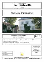 8.1 Annexes sanitaires – Notice technique