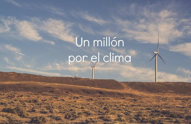un millon por el clima