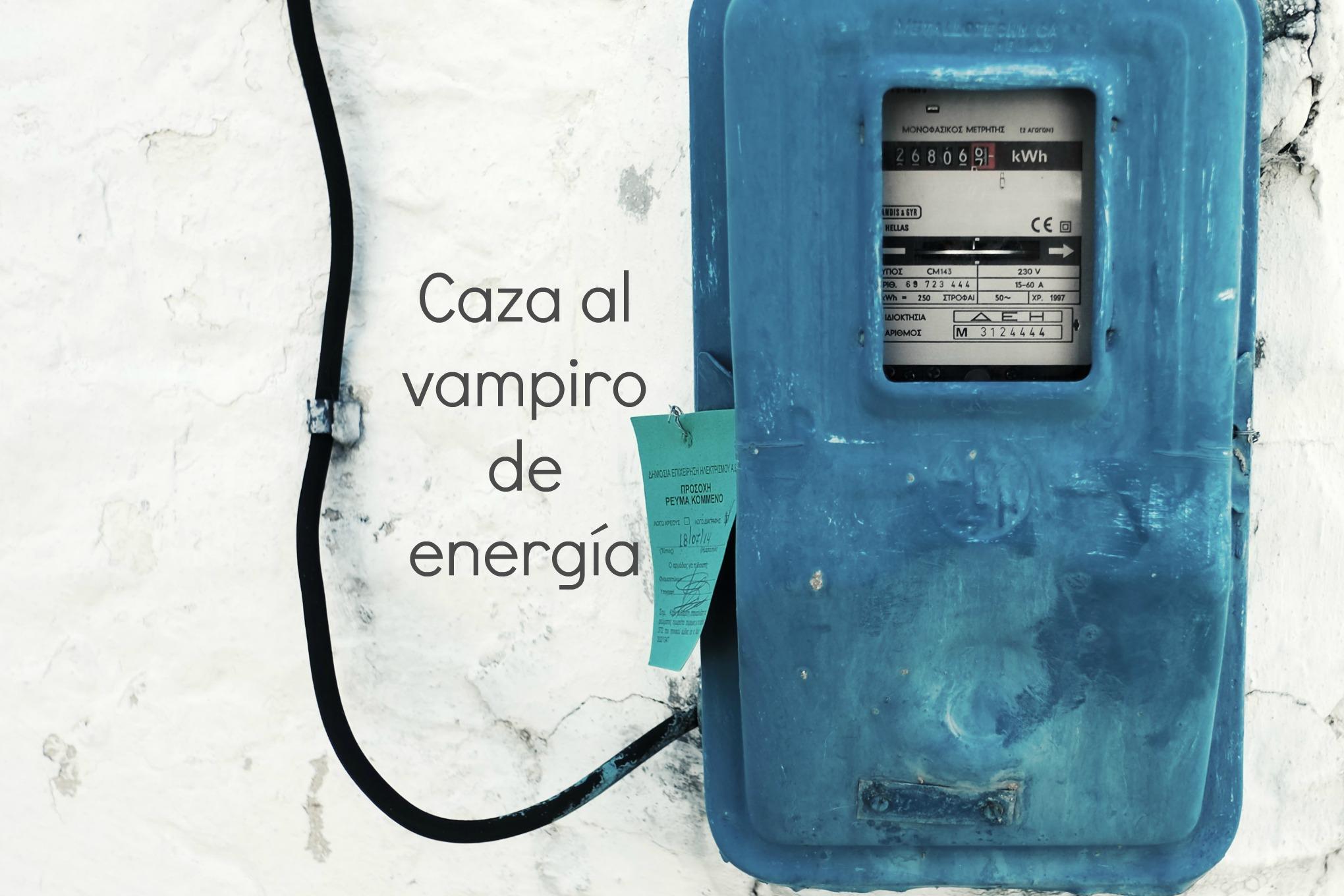 caza al vampiro de energía