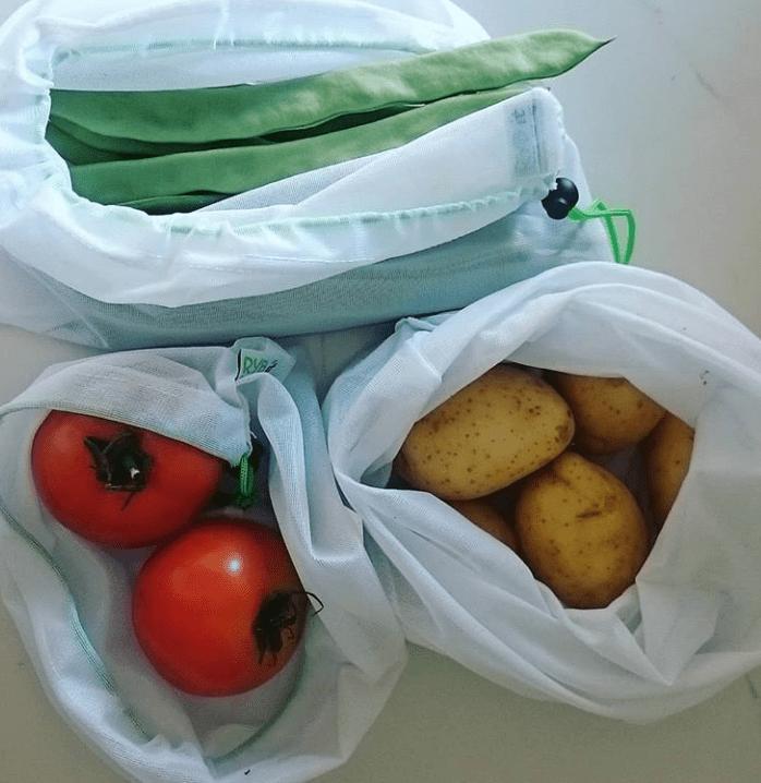 Bolsas a granel reutilizables