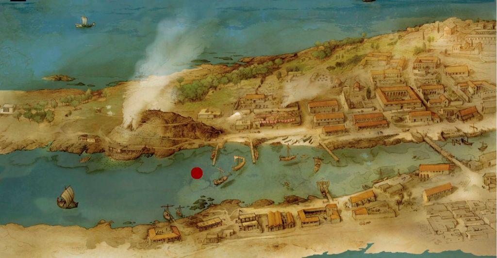 Ilustración del canal de Cádiz, por Albert Álvarez Marsal