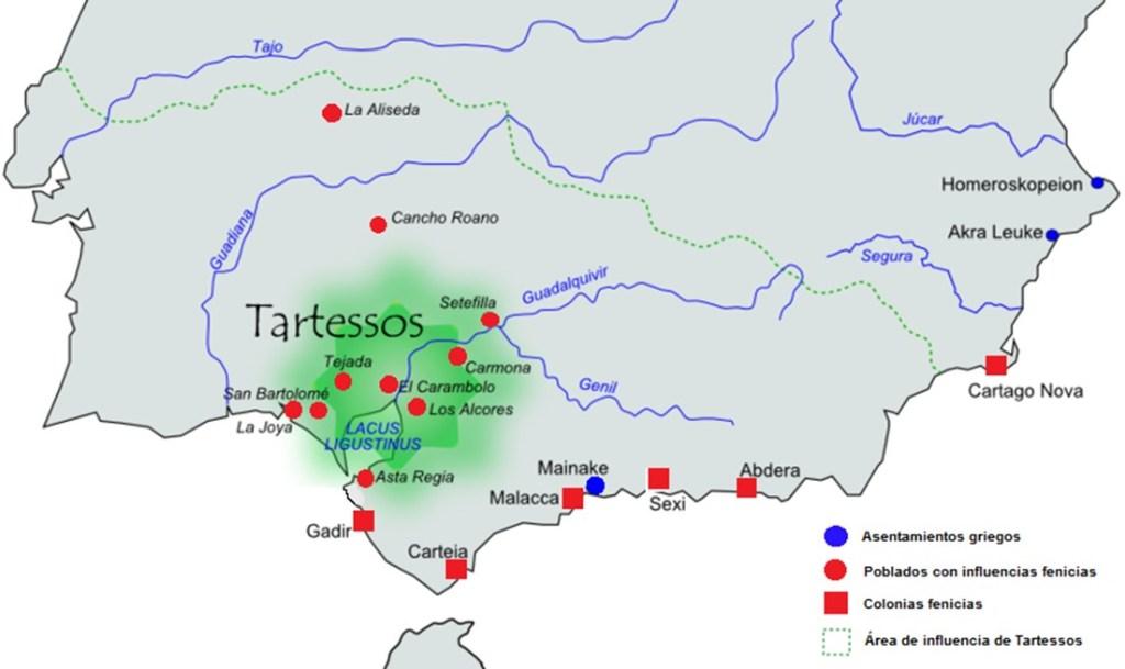 Localización de Tartessos