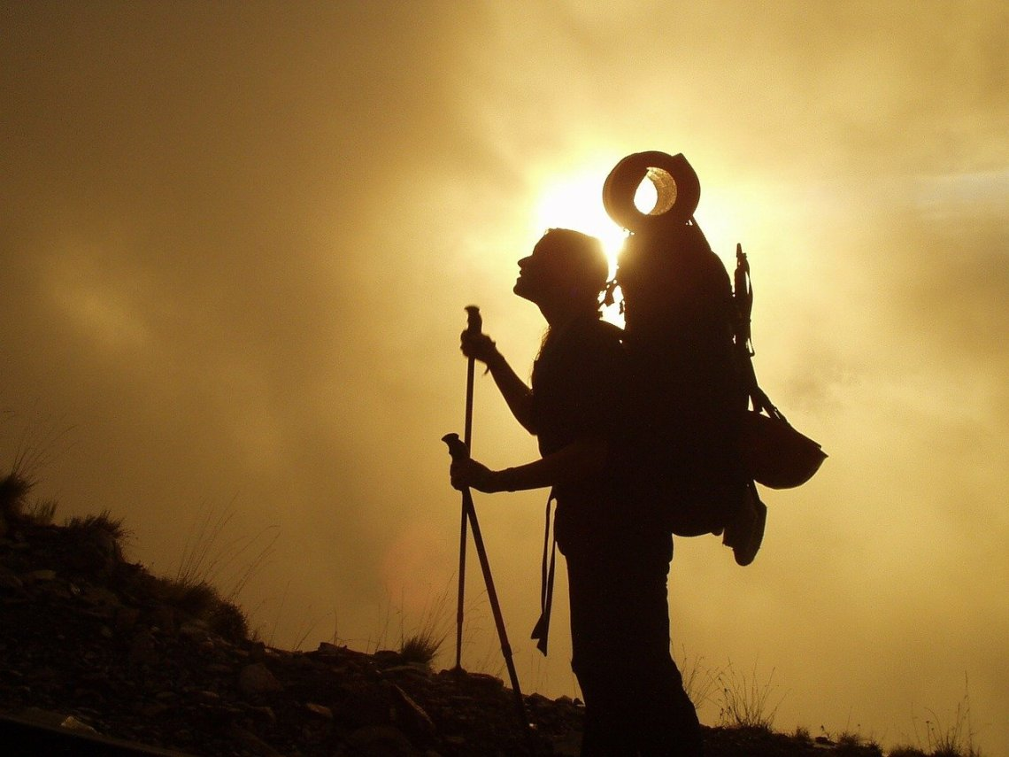 trekking, hiking, mountaineering