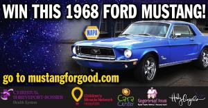 1968 Mustang Raffle Drawing