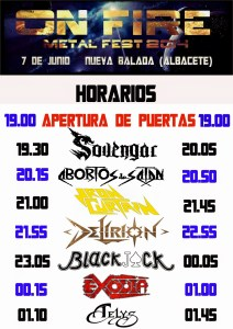 On_Fire_Horarios