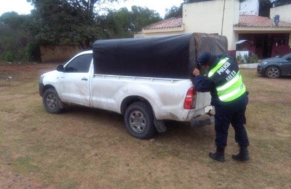 En Anta, efectivos policiales secuestran mercadería de contrabando