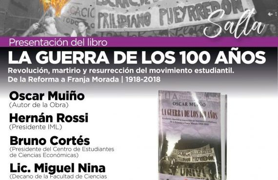 Presentación del libro: La Guerra de los 100 años
