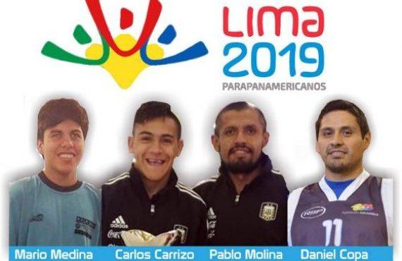 Parten los salteños que competirán en los Juegos Parapanamericanos de Lima 2019