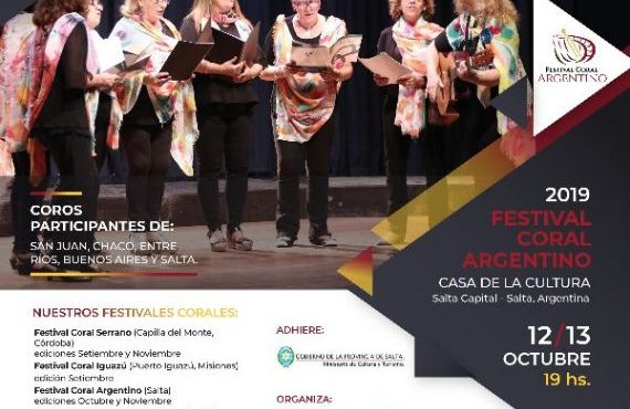 Casa de la Cultura: Festival Coral Argentino