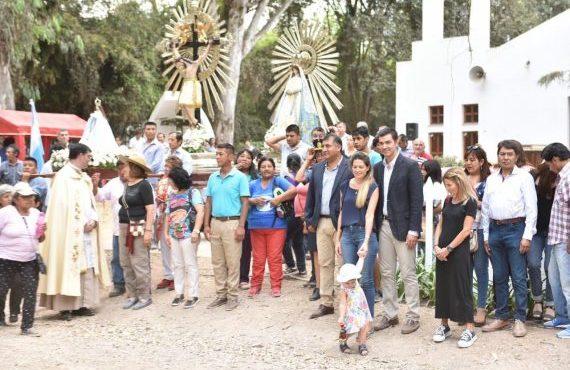 Finca Las Costas celebró sus fiestas patronales en honor a Nuestra señora del Rosario de Pompeya