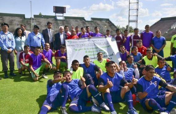 "El equipo de la unidad carcelaria 5 de Tartagal ganó el torneo ""90 minutos de libertad"""