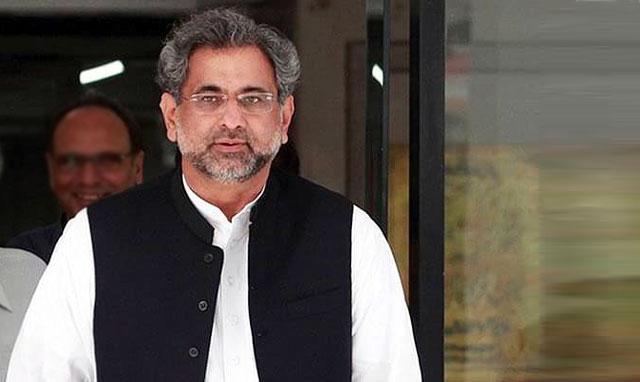 سابق وزیراعظم شاہد خاقان عباسی