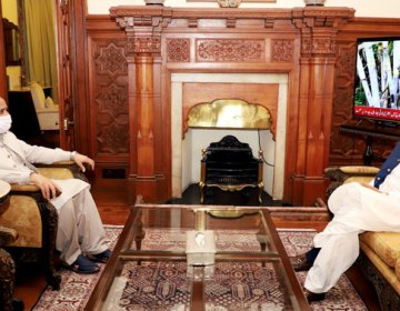 گورنر پنجاب سے وزیر اعلیٰ پنجاب