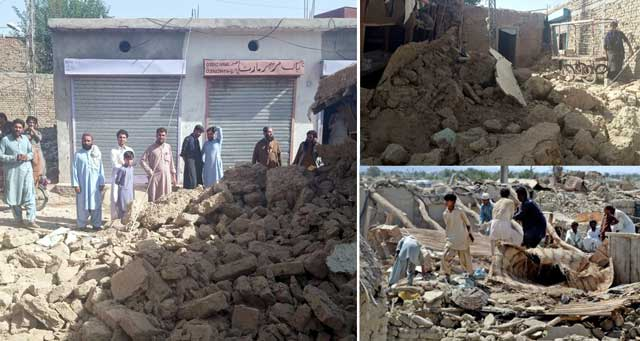 زلزلے سےبڑی تباہی