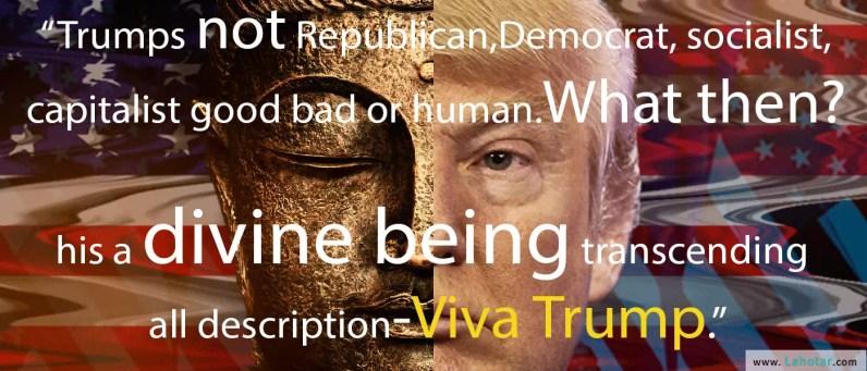 Trumps not Republican, Democrat, socialist…