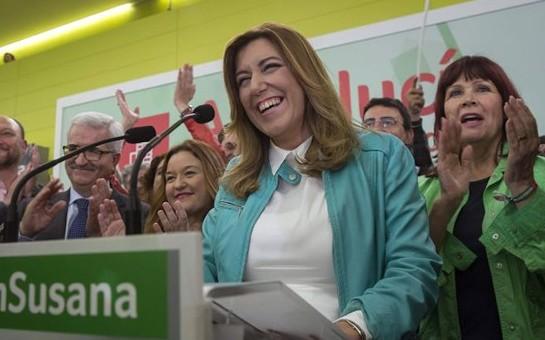 Susana Díaz gana las elecciones en Andalucía