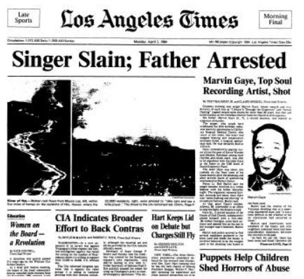 Portada Los Angeles Times