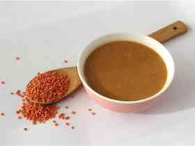 Cómo hacer Sopa de Lentejas Rojas