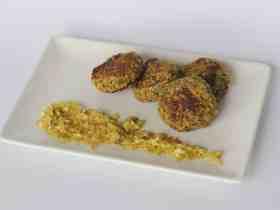 Cómo hacer un original Falafel de Semillas y Pistachos