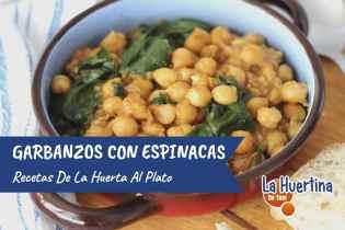 Garbanzos con Espinacas, una receta para mojar pan!