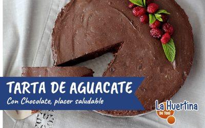 Tarta de Aguacate y Chocolate, placer saludable