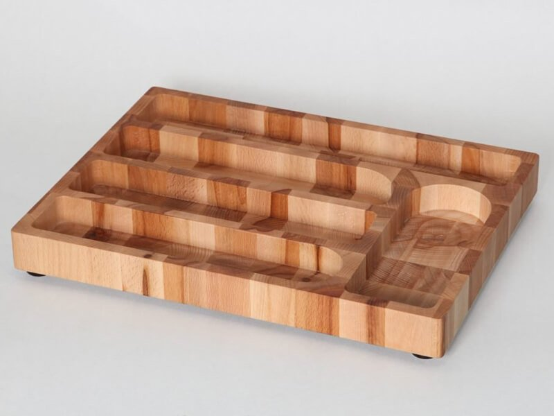 Wooden Cutlery tray is a dining