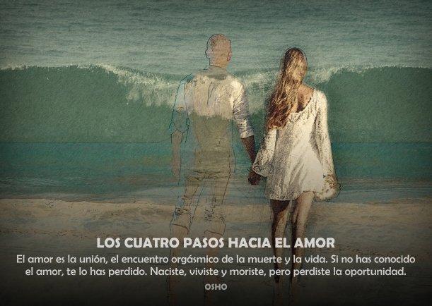 Grafica 'Los cuatro pasos hacia el amor' Categoria 'Crecimiento' Palabra 'Amor'