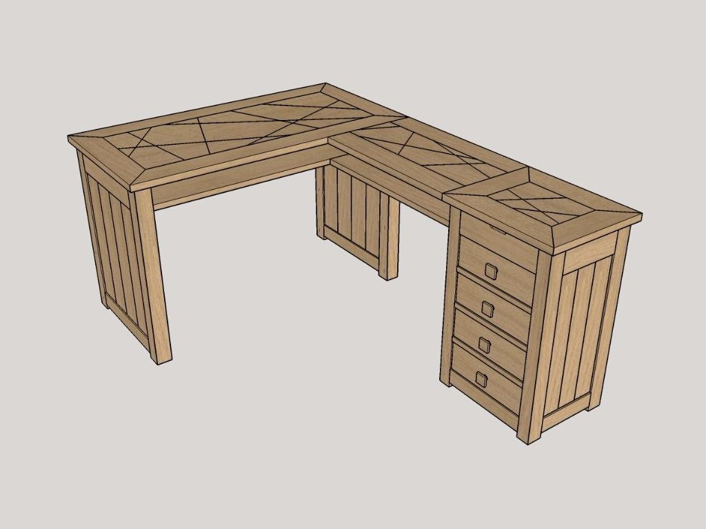 plan bureau d angle par boris beaulant sur l air du bois