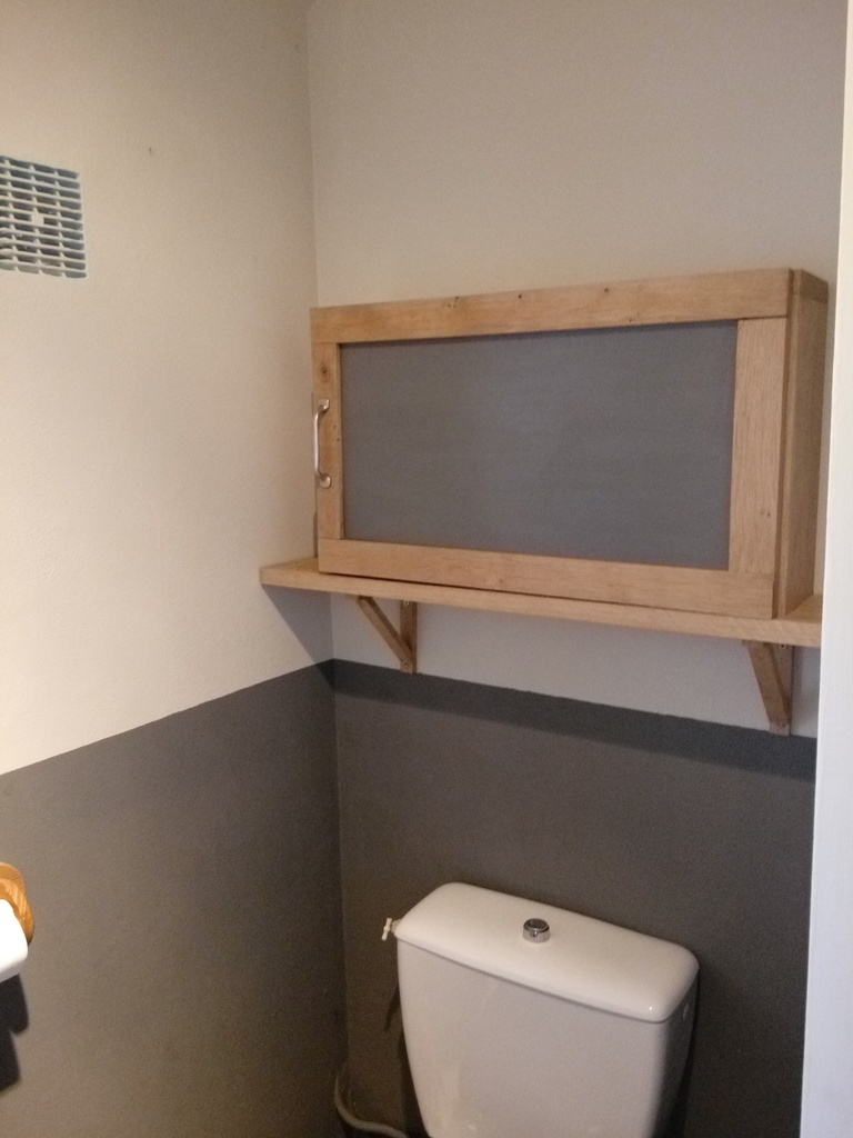 Rangement Toilettes Debout L X H Audessus Du Stockage De