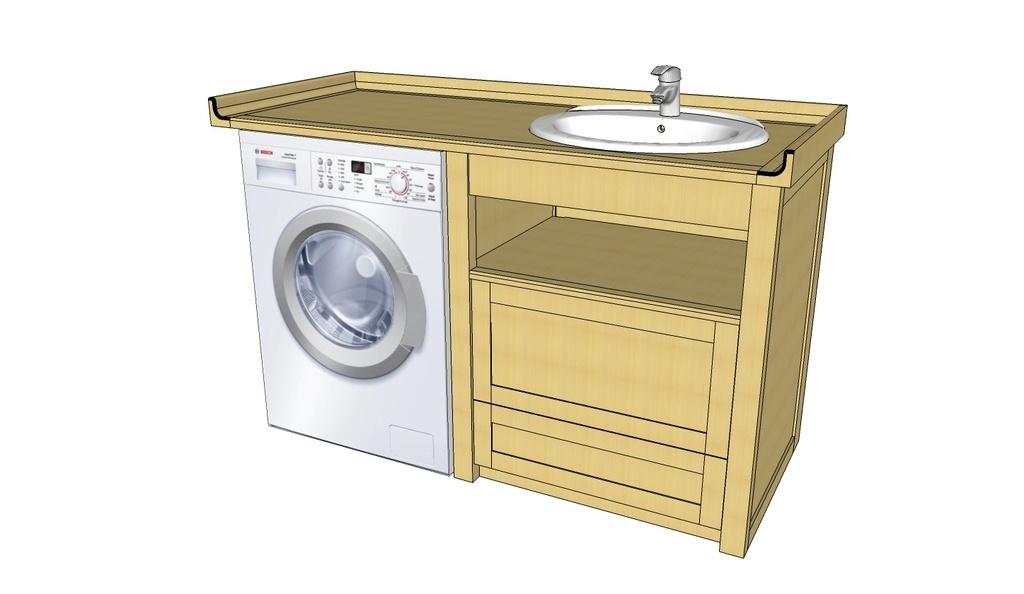 plan autre meuble sous vasque par