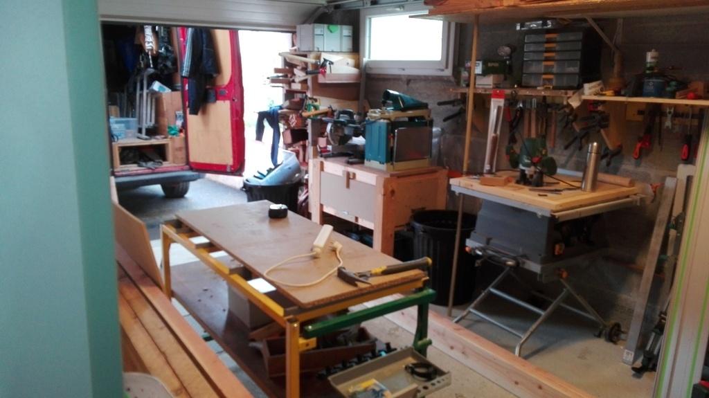 établi garage