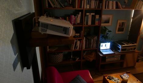 etagere pour video projecteur par