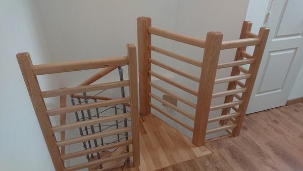 d escalier par palissandre sur l air