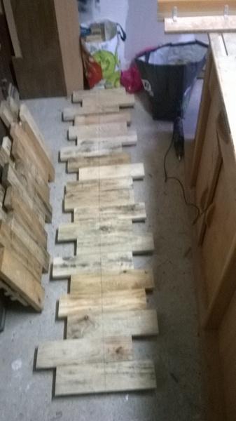 idée avec des palettes de bois