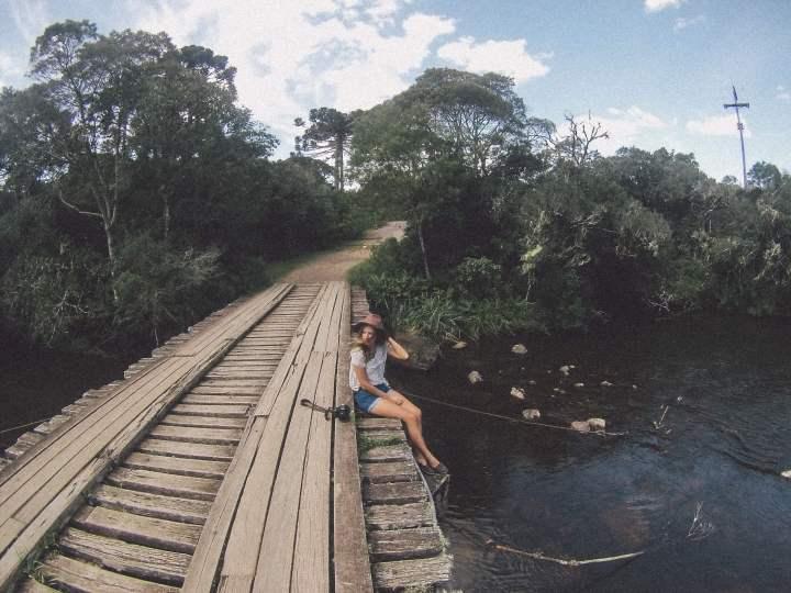 Parte do caminho de uma das trilhas para o Canyon Itaimbezinho