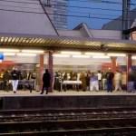 Quai de la gare de Choisy-le-Roi