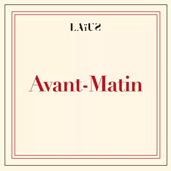 Pochette de l'album Avant-Matin