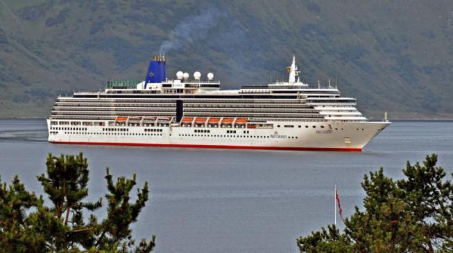 ARCADIA. Rakennettu 2002, Fincantieri Marghera Venezia, Italy. 285x32m. Syväys 7,9m. Koneteho 51840 KW. Carnival Uk. Operointi: P&O Cruises. Lippu: Bermuda.