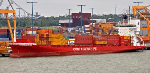 rahtilaivat m/s Containerships VIII