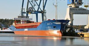 rahtilaiva m/s Frisian Lady