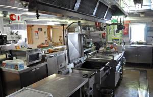 laivan keittiö