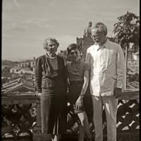 Fotos inéditas de León Trotsky en Taxco