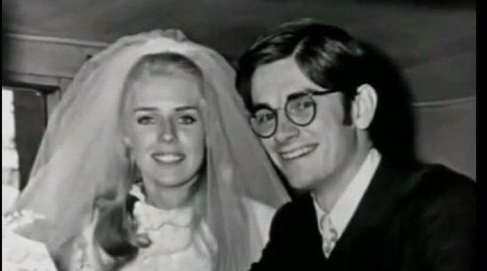 Dan & Betty Broderick on their wedding day.