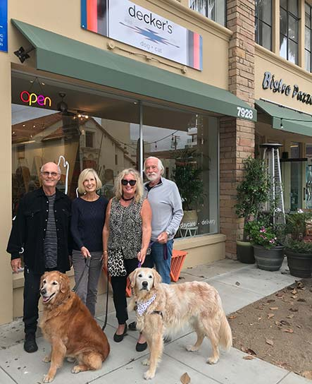 Dogs at Decker's La Jolla