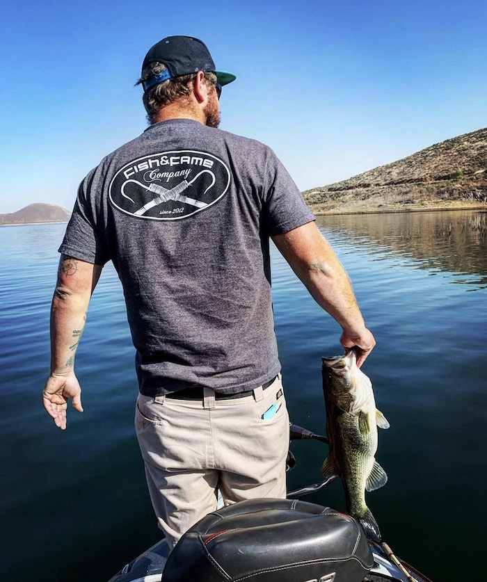 Fishing in Diamond Valley Lake
