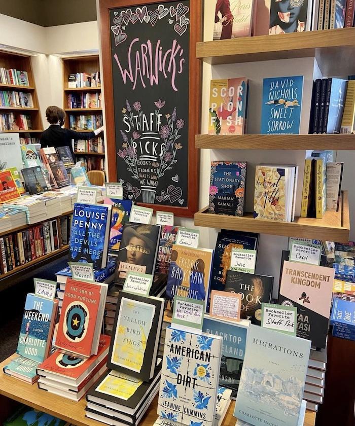 Warwick's Book Store in San Diego